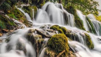 zijden watervallen foto