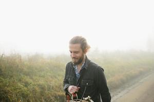 mandoline speler foto