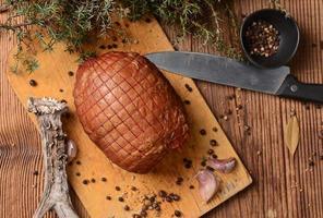 zelfgemaakte ham