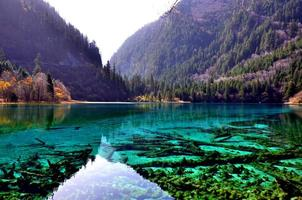kleurrijke herfst jiuzhaigou