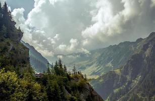 Berg uitzicht foto