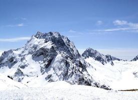 bergen van de Kaukasus foto