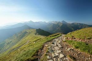 Pools Tatra-gebergte foto