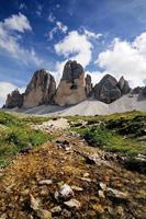 versheid van bergen