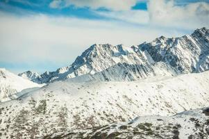 sneeuwberg foto