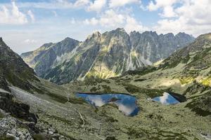 alles het mooist in de bergen of vijvers en toppen