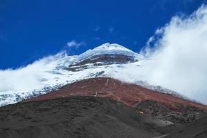 vulkaan cotopaxi. Ecuador. foto