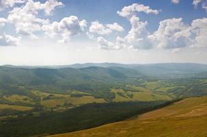 polonina carynska. bieszczady bergen. foto