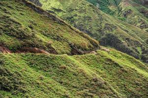 loopbrug op de berg