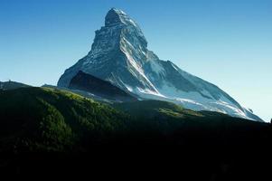Matterhorn bij zonsopgang foto