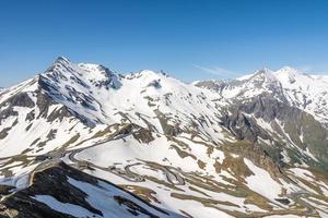 alpine panoramisch uitzicht