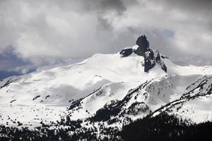 Black Tusk Peak, Garibaldi Provincial Park van Whistler Mountain foto