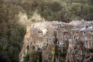 calcata, italiaans foto