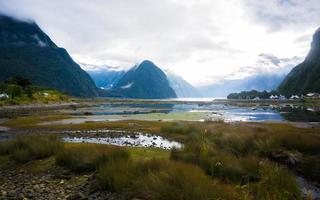 milford sound, nieuw-zeeland foto