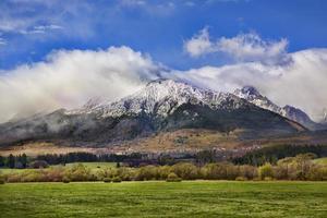 Tatra-gebergte, Slowakije foto
