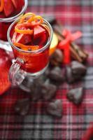 rode glühwein foto