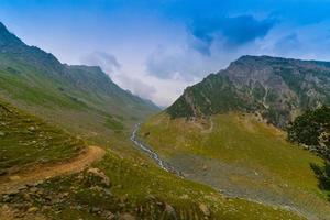 stroom in de bergen