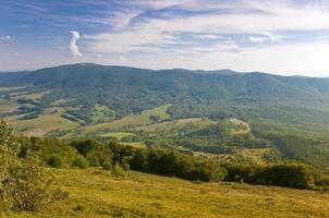 polonina wetlinska. bieszczady bergen. foto