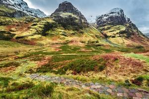 berg in glencoe, schotland