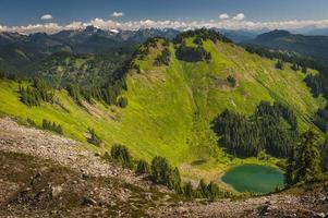 sauk mountain, washington, usa foto