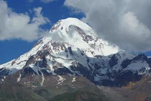 Mount Kazbek, Georgië, Europa