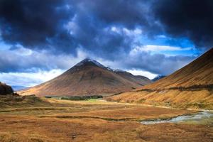 schotland, beinn dorain mountain. foto