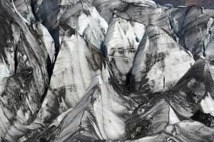 gletscher op het eiland foto