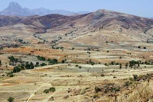afrikaanse bergen, andringitra nationaal park, madagaskar foto