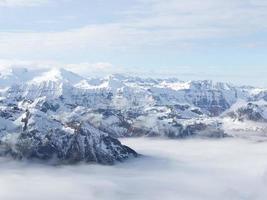 kitssteynhorn gletsjer foto