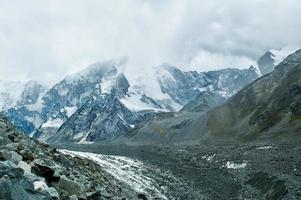 akkem gletsjer op altai foto