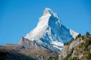 Matterhorn, Pennine Alps, Zwitserland foto