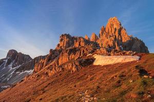 monte paterno (paternkofel) foto