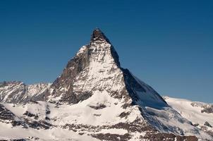 de matterhorn in zwitserland