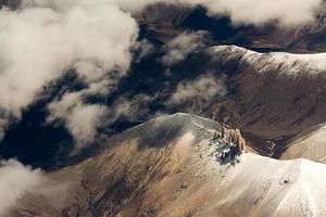 luchtfoto van de Himalaya-bergen foto