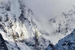 sneeuw bedekte bergen