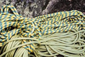 touwen om te klimmen foto