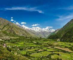 vallei in de Himalaya