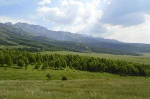 berglandschap, sheveli kloof, kirgizië