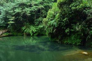 transparant diep zwembad foto