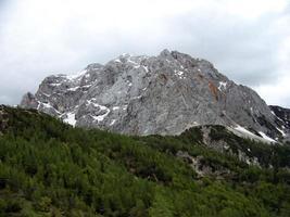 bergen in het triglav nationaal park foto
