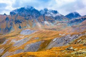 weer in de bergen foto