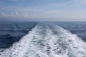 zee en horizon foto