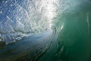 golven water oceaan foto