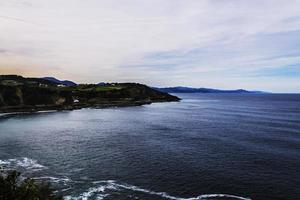 de blauwe oceaan foto