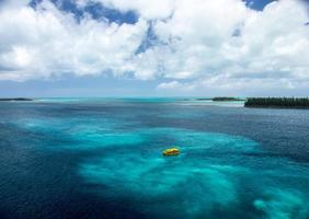 schilderachtig uitzicht op de oceaan foto
