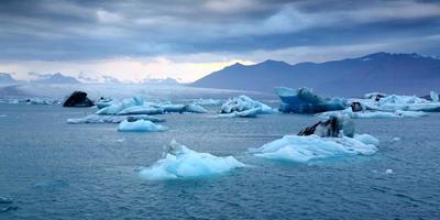 jökulsárlón, IJsland foto