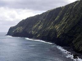 ponta da marquesa strand, atlantische oceaan, oostelijk s.miguel eiland, azoren foto