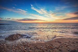 zonsopgang boven zee