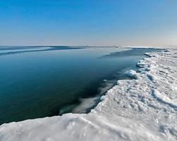 de aard van het eiland Sakhalin, Rusland. foto