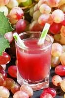 roze druivencocktail foto